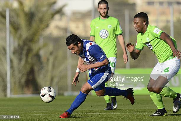 Reza Ghoochannejhad Bazoer during the preseason friendly match between Heereveen and Wolfsburgo in La Manga Club Murcia SPAIN 7th of January 2017