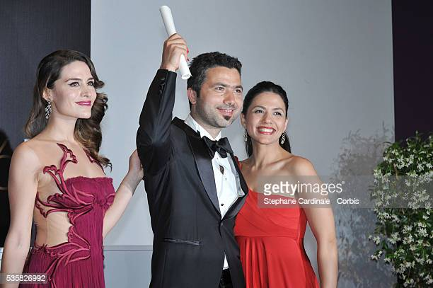 Rezan Yesilbas poses at the Winners Photocall during the 65th Cannes International Film Festival