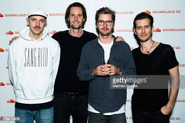 Reznik SoundCloud cofounder and Chief Executive Officer Alex Ljung DJ Rampa and SoundCloud cofounder and Chief Technology Officer Eric Wahlforss...