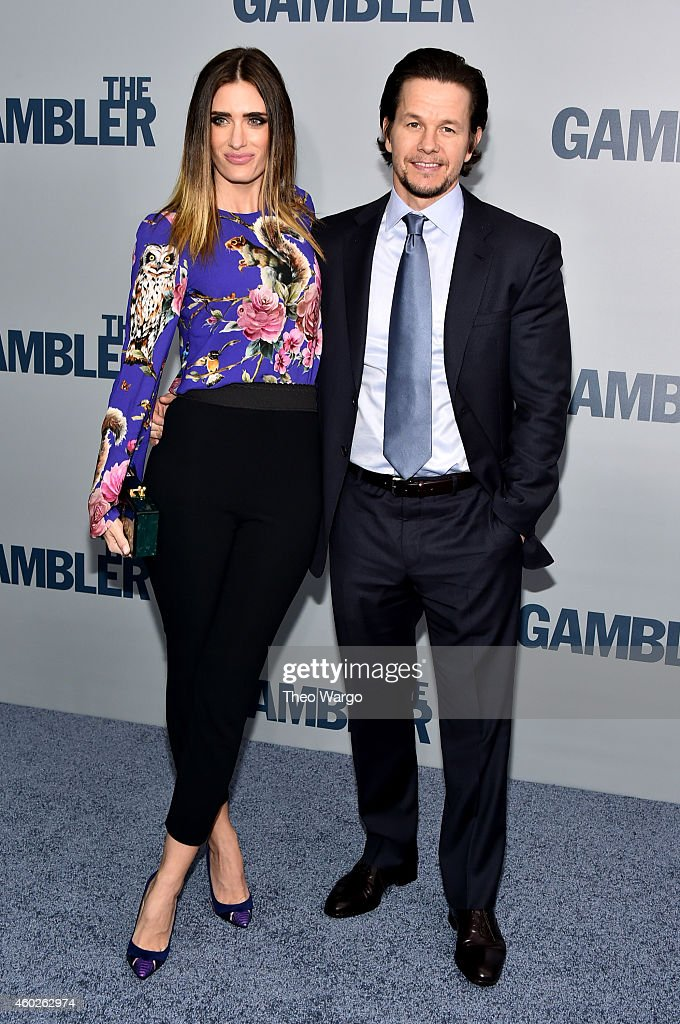 Rhea Durham and Mark Wahlberg attend 'The Gambler' New York Premiere at AMC Lincoln Square Theater on December 10 2014 in New York City