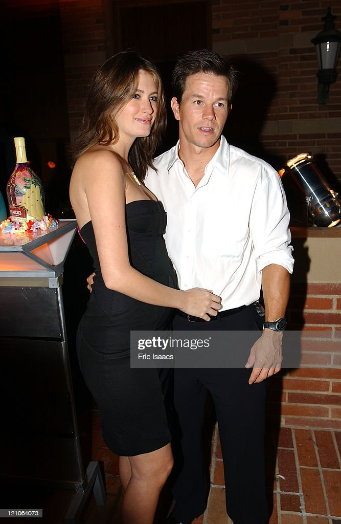 Rhea Durham and Mark Wahlberg during An Evening With Brian Wilson and Friends A Benefit Concert for The Carl Wilson Foundation at UCLA in Westwood...