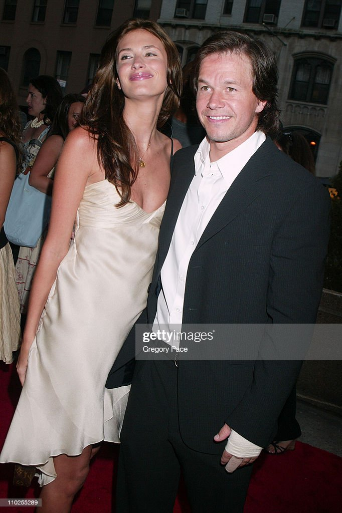 Rhea Durham and Mark Wahlberg during 'Four Brothers' New York City Premiere Outside Arrivals at Clearview Chelsea West in New York City New York...