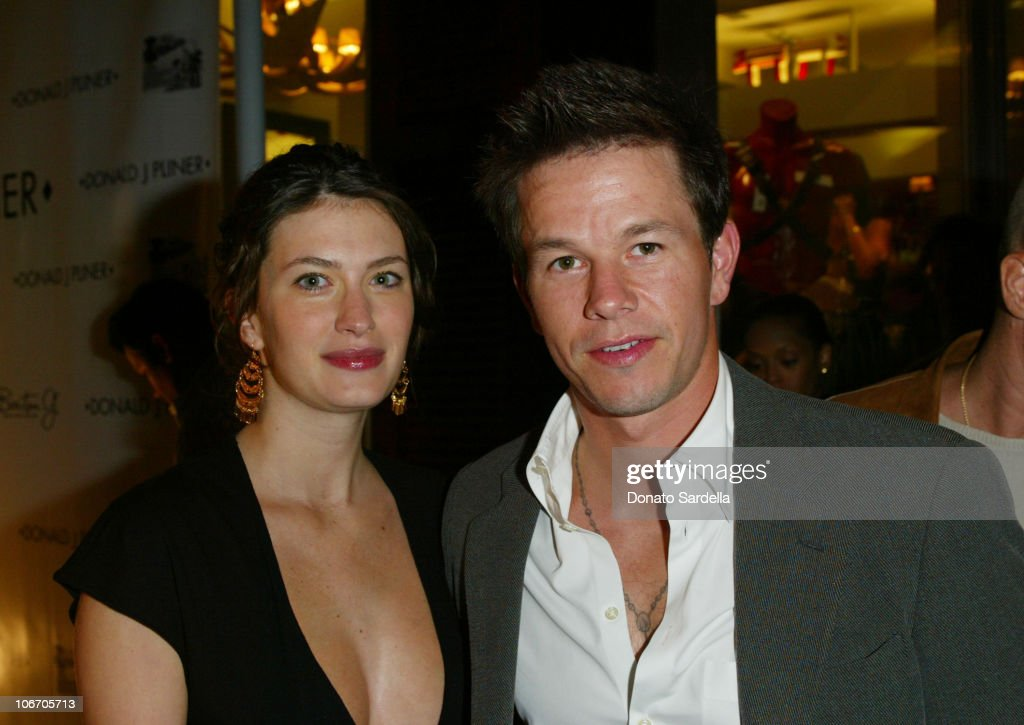 Rhea Durham and Mark Wahlberg during Grand Opening Of The Donald J Pliner Boutique In Beverly Hills Benefiting The Mark Wahlberg Youth Foundation...