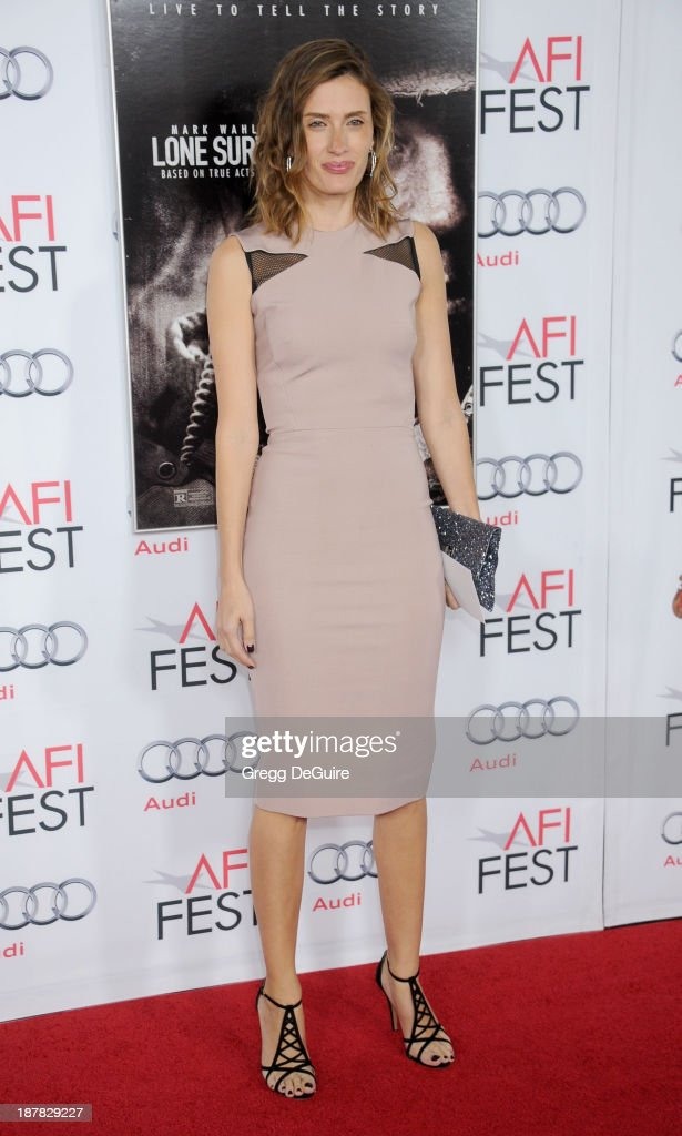 Rhea Durham arrives at the AFI FEST 2013 for the 'Lone Survivor' premiere at TCL Chinese Theatre on November 12 2013 in Hollywood California