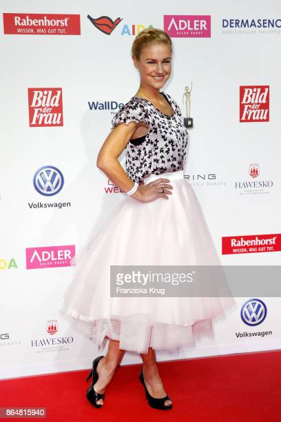 Rhea Harder attends the 'Goldene Bild der Frau' award at Hamburg Cruise Center on October 21 2017 in Hamburg Germany