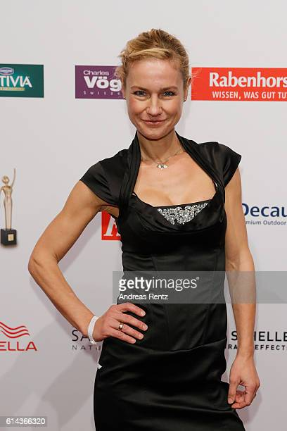Rhea Harder attends the 'Goldene Bild der Frau' award at Stage Theater on October 13 2016 in Hamburg Germany