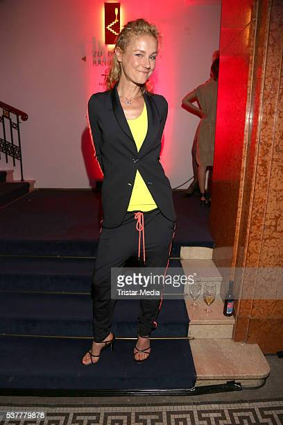Rhea Harder attends the Studio Hamburg Nachwuchspreis 2016 at Thalia Theater on June 2 2016 in Hamburg Germany