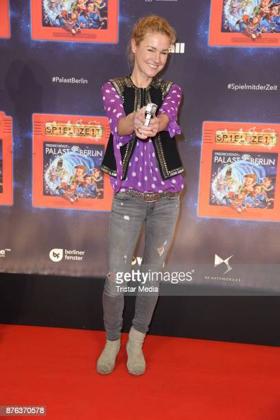 Rhea HarderVennewald attends the premiere of the children's show 'Spiel mit der Zeit' at Friedrichstadtpalast on November 19 2017 in Berlin Germany