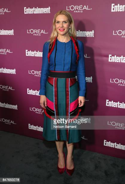 Rhea Seehorn attends the 2017 Entertainment Weekly PreEmmy Party at Sunset Tower on September 15 2017 in West Hollywood California