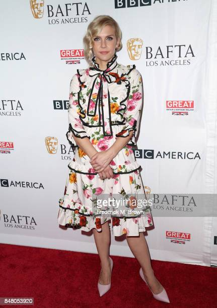 Rhea Seehorn attends the BBC America BAFTA Los Angeles TV Tea Party 2017 at The Beverly Hilton Hotel on September 16 2017 in Beverly Hills California