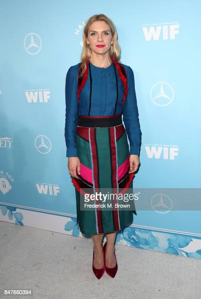 Rhea Seehorn attends the Variety and Women In Film's 2017 PreEmmy Celebration at Gracias Madre on September 15 2017 in West Hollywood California