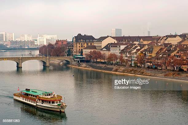 Rhein River Basel Switzerland