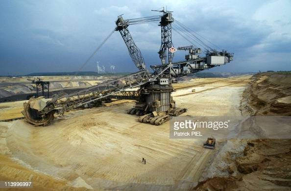 Rheinbraun Mining Company Moves Villages to Exploit Lignite Resources In Germany In June 1997