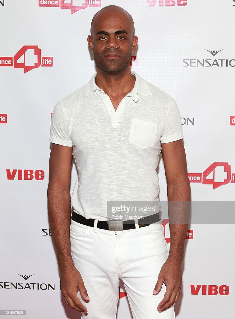 DJ Rhenalt attends dance4life cocktail party at Milk Studios on October 27, 2012 in New York City.