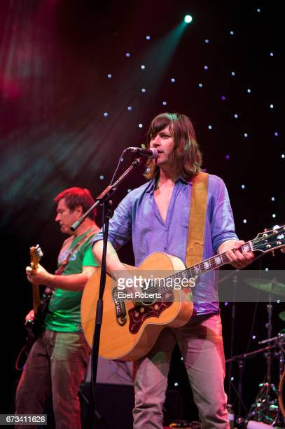 Rhett Miller and Ken Bethea of the Old 97's perform on The Outlaw Country Cruise from Tampa to Cozumel on February 27 2017