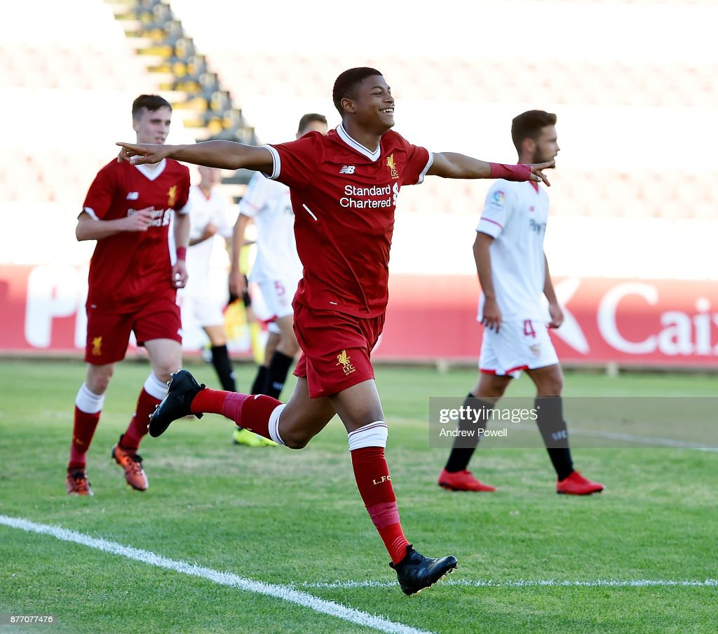 Sevilla FC U19 v Liverpool FC U19 - UEFA Youth League
