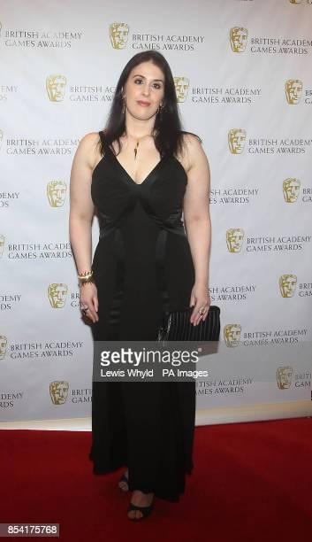 Rhianna Pratchett attending the British Academy Video Games Awards at the London Hilton Park Lane London