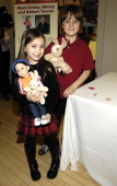 Rhiannon Leigh Wryn and Chris O'Neil during FAO Celebrates 'The Last Mimzy' with Doll Signing and Star Appearances March 19 2007 at FAO Schwarz in...