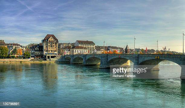 Rhine bridge in Basel