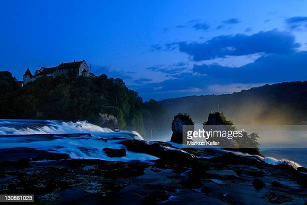 Rhine Falls near Schaffhausen - Switzerland, Europe.
