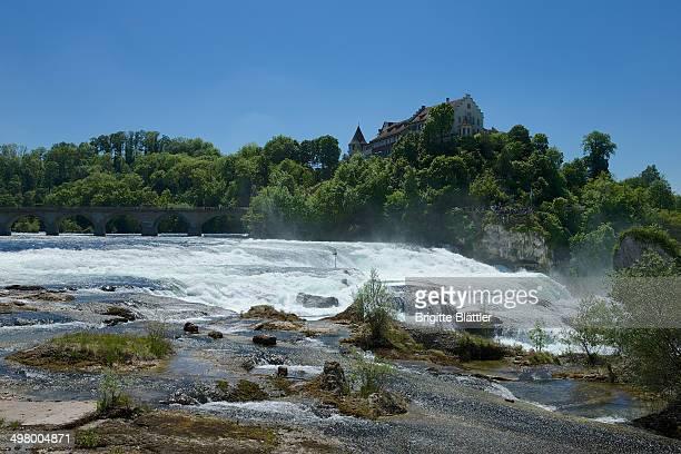 CONTENT] Rhine Falls Rheinfall von Schaffhausen castel Laufen