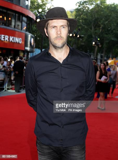Rhod Gilbert arriving for the premiere of Alan Partridge Alpha Papa at the Vue West End in Leicester Square central London