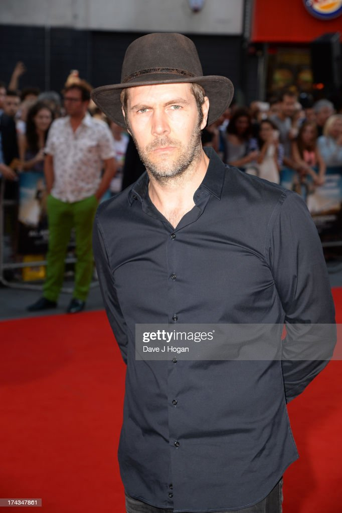 Rhod Gilbert attends the London Premiere of 'Alan Partidge: Alpha Papa' at Vue Leicester Square on July 24, 2013 in London, England.