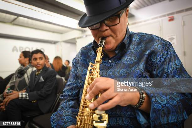 Rhoda G backstage during Amateur Night At The Apollo Super Top Dog at The Apollo Theater on November 22 2017 in New York City Photo by Shahar...