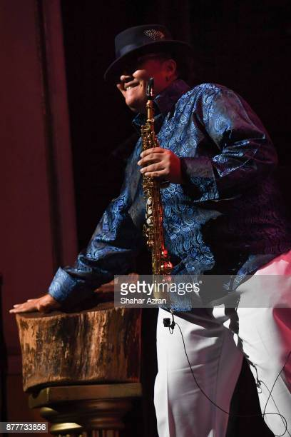 Rhoda G performs during Amateur Night At The Apollo Super Top Dog at The Apollo Theater on November 22 2017 in New York City Photo by Shahar...
