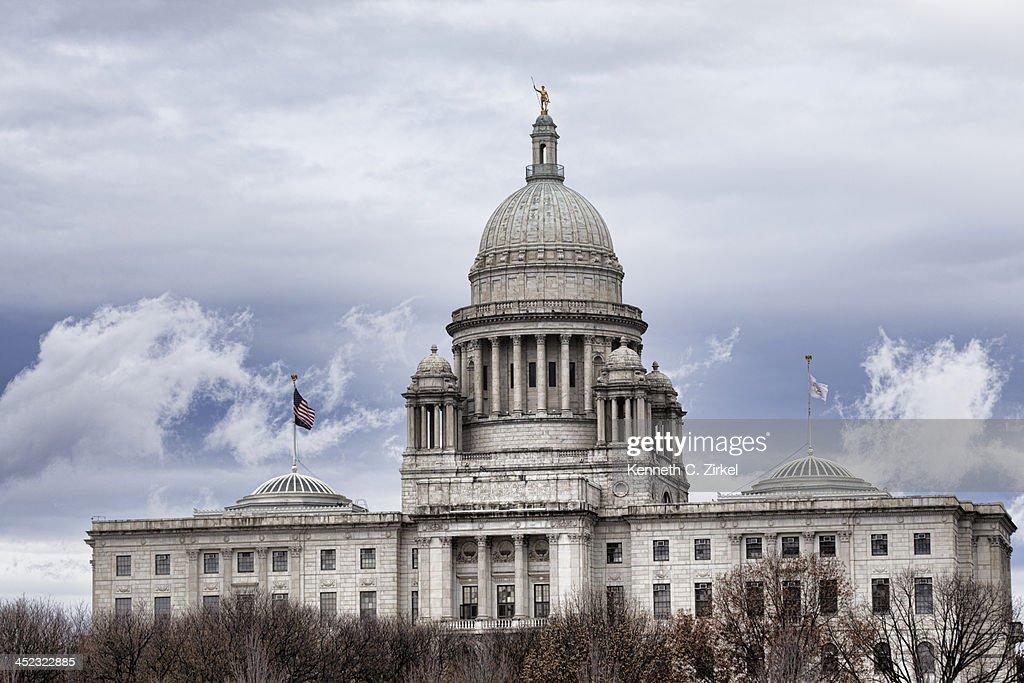 Rhode Island State House : Stock Photo