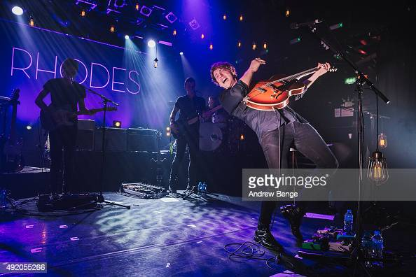 Rhodes performs on stage at KOKO on October 9 2015 in London England