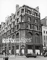 Rhodesia House at 429 Strand in London later Zimbabwe House 22nd September 1971 Built in 1908 by architect Charles Holden on the corner of the Strand...