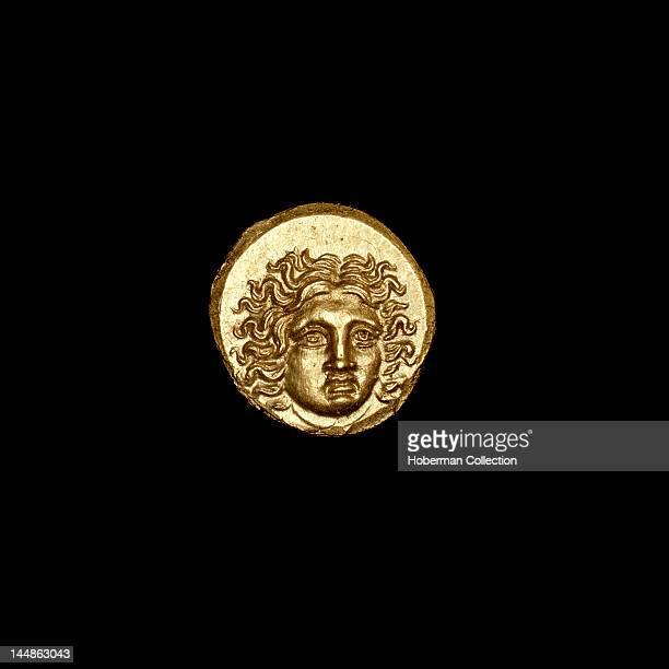 Rhodian tetrobol Coin Ancient Greece islands off Caria Helios