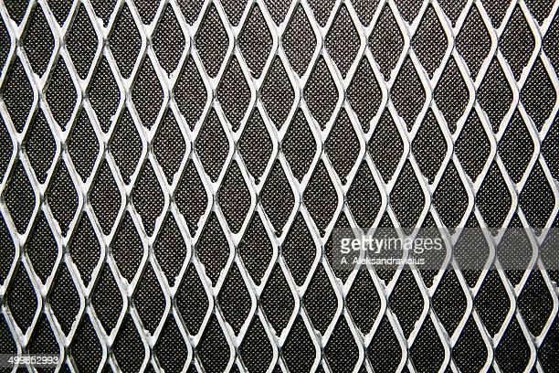Rhombus metal texture