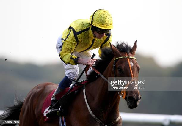 Rhombus ridden by Ryan Moore during The Betfair Chase 24th November maiden stakes
