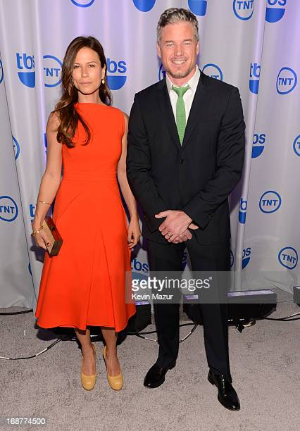Rhona Mitra and Eric Dane attend the 2013 TNT/TBS Upfront at Hammerstein Ballroom on May 15 2013 in New York City 23562_002_0189JPG