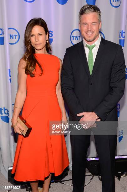 Rhona Mitra and Eric Dane attend the 2013 TNT/TBS Upfront at Hammerstein Ballroom on May 15 2013 in New York City 23562_002_0194JPG