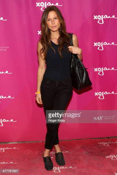 Rhona Mitra attends xoJanecom firstever '25 Most Shameless People on the Web' list celebration during the 2014 SXSW Music Film Interactive...