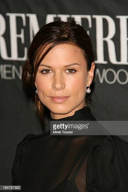 Rhona Mitra during 13th Annual Premiere Women in Hollywood at Beverly Hills Hotel in Beverly Hills California United States