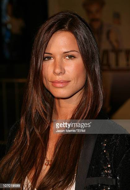 Rhona Mitra during 'Borat Cultural Learnings of America For Make Benefit Glorious Nation of Kazakhstan' Premiere Arrivals at Grauman's Chinese...