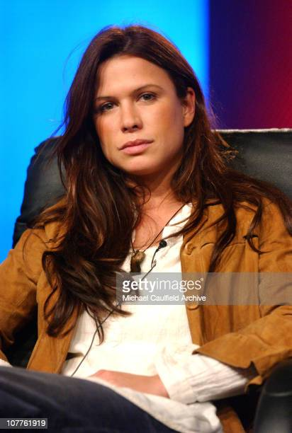 Rhona Mitra during USA SCI FI Presentation of 'Spartacus' at the Television Critics Association Meeting at The Renaissance Hotel in Hollywood...