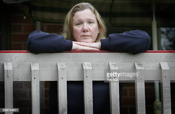 Rhonda Beech who has Chronic Fatigue Syndrome at her Bayswater home on 26th July 2005 THE AGE NEWS Picture by PAUL HARRIS