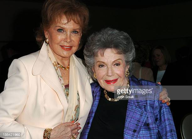 Rhonda Fleming and Vera Brown during PATH Presents 20 Years of Giving at Beverly Hills Hotel in Beverly Hills California United States