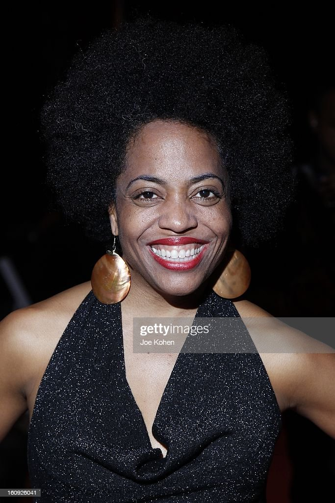 <a gi-track='captionPersonalityLinkClicked' href=/galleries/search?phrase=Rhonda+Ross&family=editorial&specificpeople=1537998 ng-click='$event.stopPropagation()'>Rhonda Ross</a> attends the Sukeina fall 2013 fashion show at Helen Mills Event Space on February 7, 2013 in New York City.
