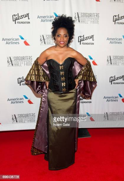 Rhonda Ross Kendrick attends the 48th Annual Songwriters Hall Of Fame Induction and Awards Gala at New York Marriott Marquis Hotel on June 15 2017 in...