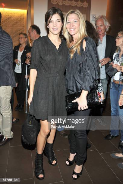 Rhonda Spevak and Jodie Davidovich attend Launch and Celebration of Farmhearts at Pure Yoga on September 23 2010 in New York City