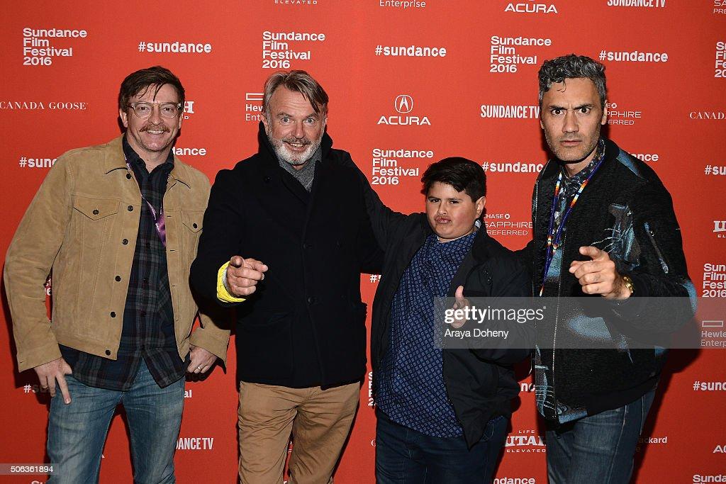 """Hunt For The Wilderpeople"" Premiere - Arrivals - 2016 Sundance Film Festival"