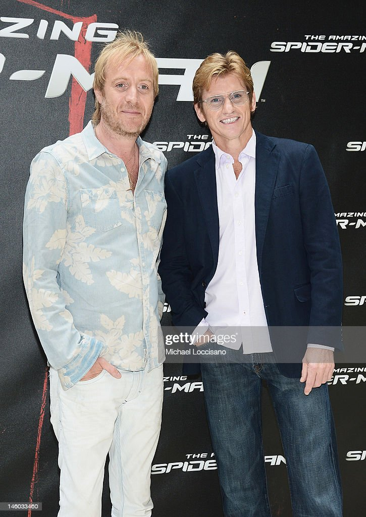 <a gi-track='captionPersonalityLinkClicked' href=/galleries/search?phrase=Rhys+Ifans&family=editorial&specificpeople=204530 ng-click='$event.stopPropagation()'>Rhys Ifans</a> (L) and <a gi-track='captionPersonalityLinkClicked' href=/galleries/search?phrase=Denis+Leary&family=editorial&specificpeople=204773 ng-click='$event.stopPropagation()'>Denis Leary</a> attend the 'The Amazing Spider-Man' New York City Photo Call at Crosby Street Hotel on June 9, 2012 in New York City.