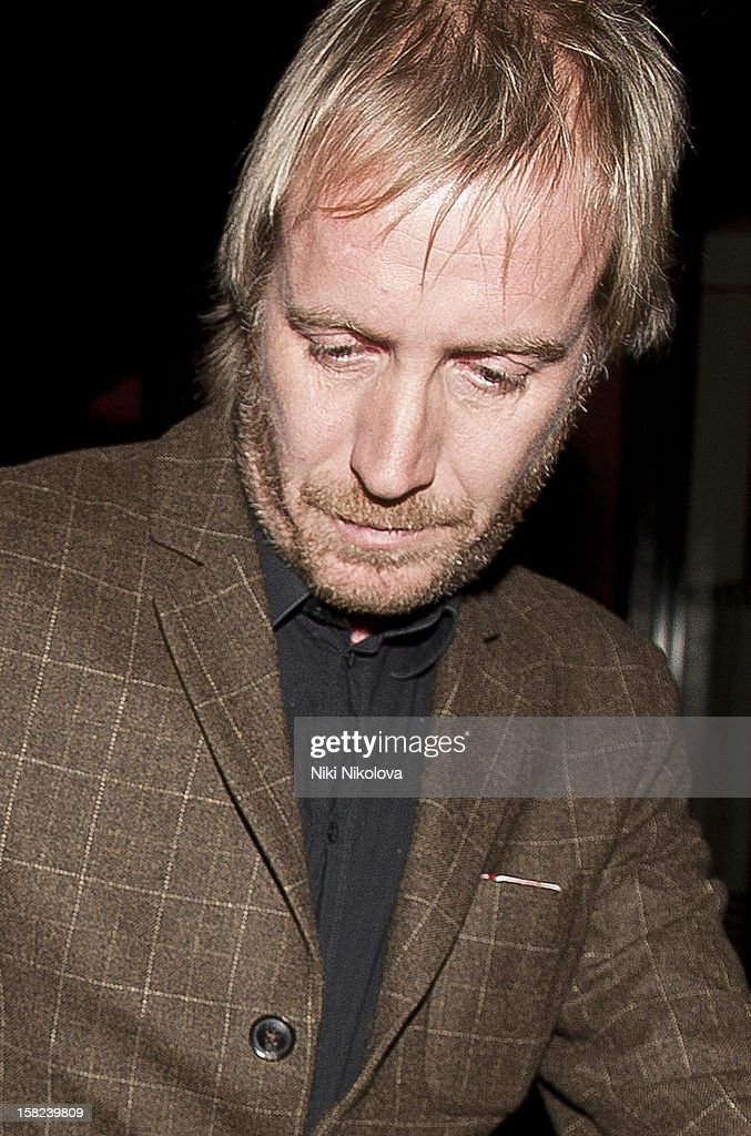 Rhys Ifans sighting on December 11, 2012 in London, England.