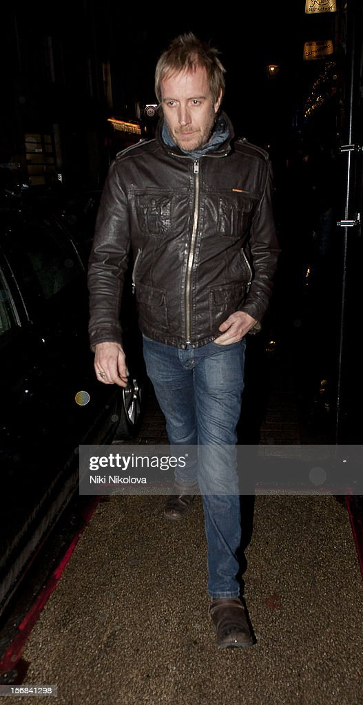 Rhys Ifans sighting on November 22, 2012 in London, England.